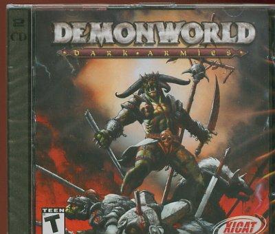 Demon World Dark Armies PC Game (Free Shipping)
