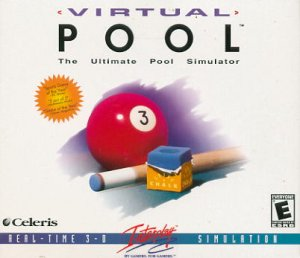 Virtual Pool PC Game (New! Free Shipping)