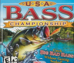USA Bass Championship PC Game JC (New! Free Shipping)