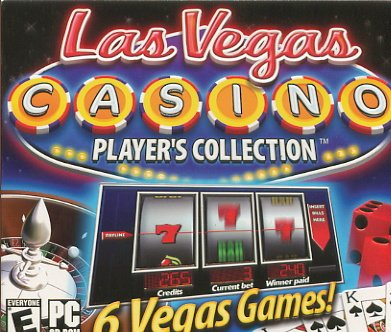 Las Vegas Casino: Player's Collection  BlackJack Poker Craps Baccarat Slots Roulette Free Shipping
