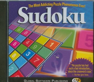 Sudoku Puzzle Addict PC-Game JC (NEW! Free Shipping)