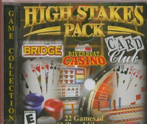 High Stakes Pack Interactive Bridge+Riverboat Casino+Card Club PC-Game (Free Shipping)