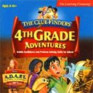 ClueFinders 4th Grade Adventures Mac/PC XP OK! Free Shipping