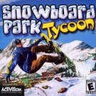 SNOWBOARD PARK TYCOON PC GAME -NEW- FREE SHIPPING-