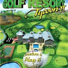 GOLF RESORT TYCOON II 2 -PC GAME - FREESHIPPING-