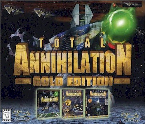 TOTAL ANNIHILATION GOLD ORIGINAL+CORE CONTINGENCY+BATTLE TACTICS (FREE SHIPPING)