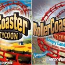 ROLLER COASTER TYCOON DELUXE 2 CDS ORIGINAL+2 EXPANSIONS -NEW-
