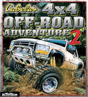 CABELA'S 4X4 OFFROAD ADVENTURE 2 -NEW- FREE SHIPPING-