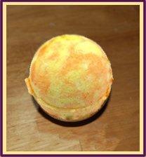 Orange Cream Bath Bomb
