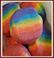 Rainbow Lump Sugar Scrub