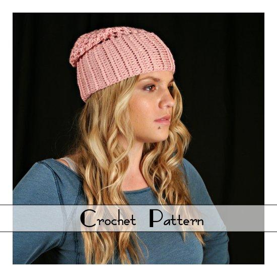 .Crochet Pattern for Monterey Hat