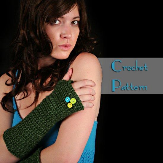 Pattern for Form-Fitting Fingerless Gloves