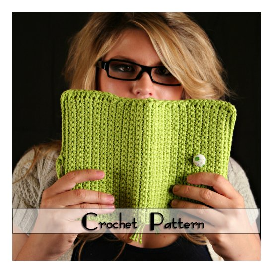 Crochet Pattern for Book Cover