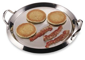 5-ply Stainless Steel Round Griddle