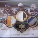triple jersey patch Peterson Tomlinson and Lynch #15/25 (8 color)!!!