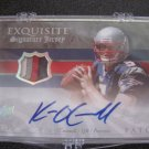 Kevin O'Connell 4 color jersey patch auto #10/10