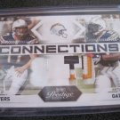 Dual jersey patch Antonio gates and philip Rivers #17/25