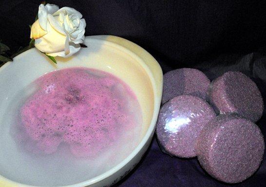 Infinity of Wellness Milky Bath Fizzers (3 pack)
