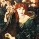 LA GHIRLANDATA Fine Art Print Dante Gabriel Rossetti