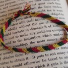 Candy Stripe Rasta Bracelet