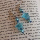 Aqua Star Earrings