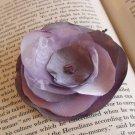 Shades of Purple Fabric Flower
