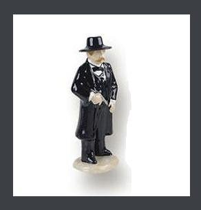 Wyatt Earp Salt or Pepper Shaker Old West Gunfighter Figurine