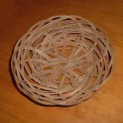 Light Brown Woven Basket for Decorative Crafts Shells Home Decor
