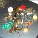 Group1 - Vintage LOT of Single Earrings for Jewelry Making Arts Crafts Projects Jewelry Repair