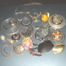 Group3 - Vintage LOT of Single Earrings for Jewelry Making Arts Crafts Projects Jewelry Repair