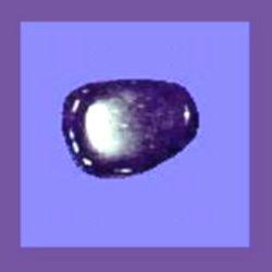 BLUE DYED BANDED AGATE Tumbled & Polished Gemstone