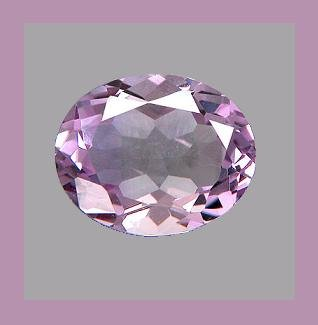 2.50ct AMETHYST 10.6x8.2mm Oval Faceted Loose Gemstone - 100% Real Natural Genuine