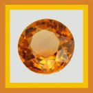 Orange SAPPHIRE 0.50ct Round Brilliant 4.8mm Faceted Gemstone 100% Real Natural Genuine Authentic!