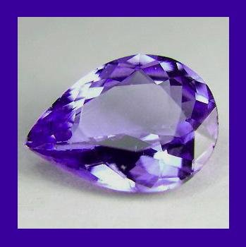 TANZANITE 0.80ct Pear Cut 7x5mm Loose Gemstone - 100% Natural Real Authentic Genuine!