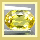 CITRINE 1.26ct Oval Cut 8x6mm Yellow Faceted Natural Loose Gemstone