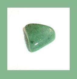 6.01ct Green PREHNITE Tumbled and Polished Natural Loose Gemstone