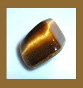 13.75cts GOLDEN TIGER'S EYE Tumbled and Polished Natural Loose Gemstone