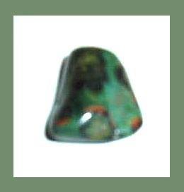5.88cts Green LEOPARD SKIN JASPER Tumbled and Polished Natural Loose Gemstone