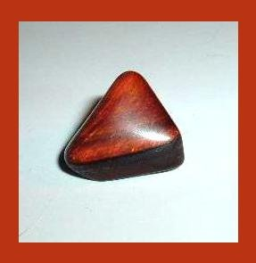 9.18ct RED TIGER'S EYE Tumbled and Polished Natural Loose Gemstone