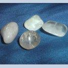 38.58ctw Lot of 4 Natural QUARTZ Tumbled and Polished Loose Gemstones