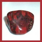 Over 60cts Red BRECCIATED JASPER Tumbled and Polished Natural Loose Stone