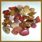 212.50ctw Mixed Lot of Brown Tumbled and Polished Gemstones