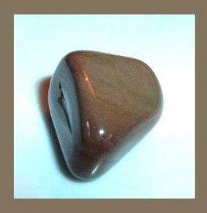 67.22ctw Pair of 2 BROWN JASPER Tumbled and Polished Natural Loose Gemstone