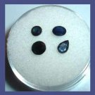 1.75ctw Lot of 4 Natural Blue SAPPHIRE Mixed Shapes Faceted Loose Gemstones
