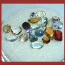 3.60ctw Lot of 20 Faceted Natural Loose Gemstones of various types, shape, cut, and size