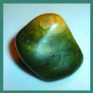 43.20ct GREEN AGATE Tumbled and Polished Natural Loose Gemstone