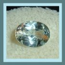1.35ct Light Blue AQUAMARINE Oval Cut 7x5mm Faceted Natural Loose Gemstone