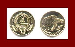 CAPE VERDE 1994 1 ESCUDO ~ AU ~ KM#27 Africa BEAUTIFUL COIN!