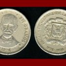 DOMINICAN REPUBLIC 1976 25 CENTAVOS KM#43 ~ COMMEMORATIVE CENTENNIAL ISSUE COIN!