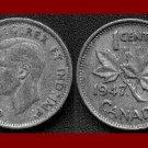 CANADA 1947 1 CENT BRONZE COIN KM#32 King George VI